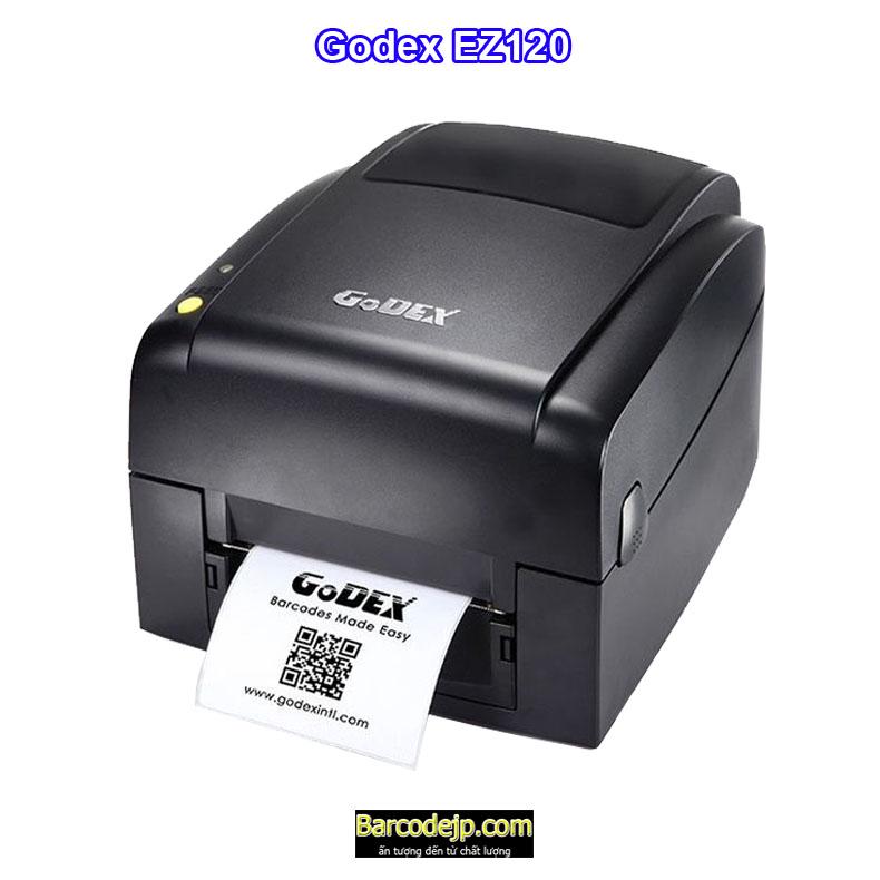 Máy in tem nhãn mã vạch Godex EZ120