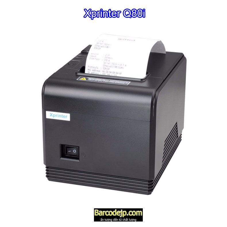 Máy in bill nhiệt khổ k80 Xprinter Q80i