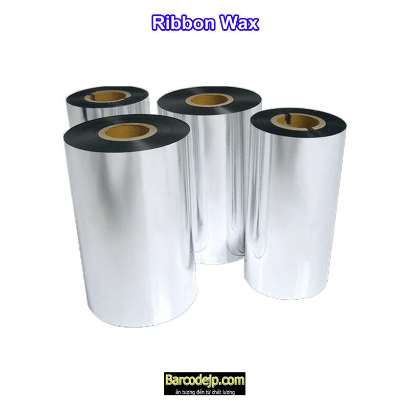 Mực in mã vạch Ribbon Wax 110mm x 75m (lõi bé)